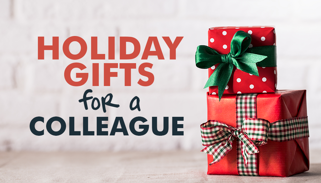 Find a great gift for colleague the office holiday